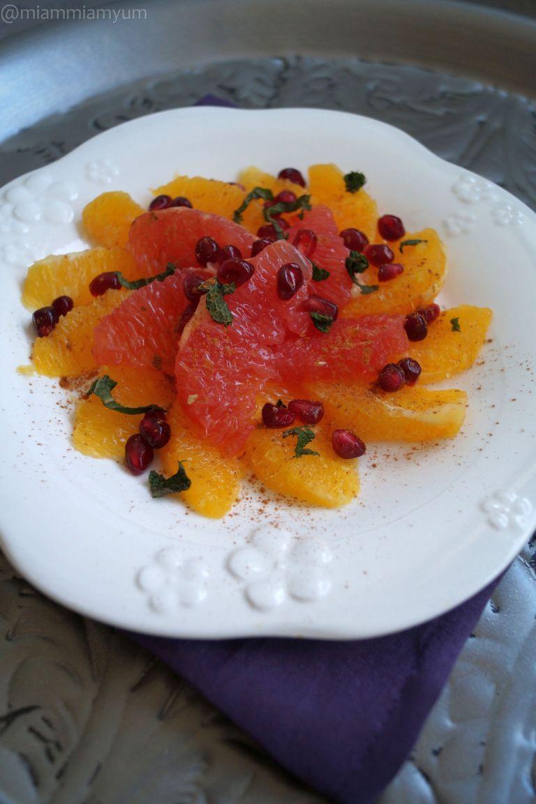 Moroccan citrus salad