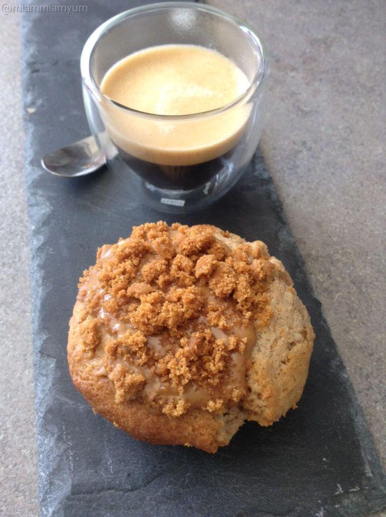 Muffin biscoff