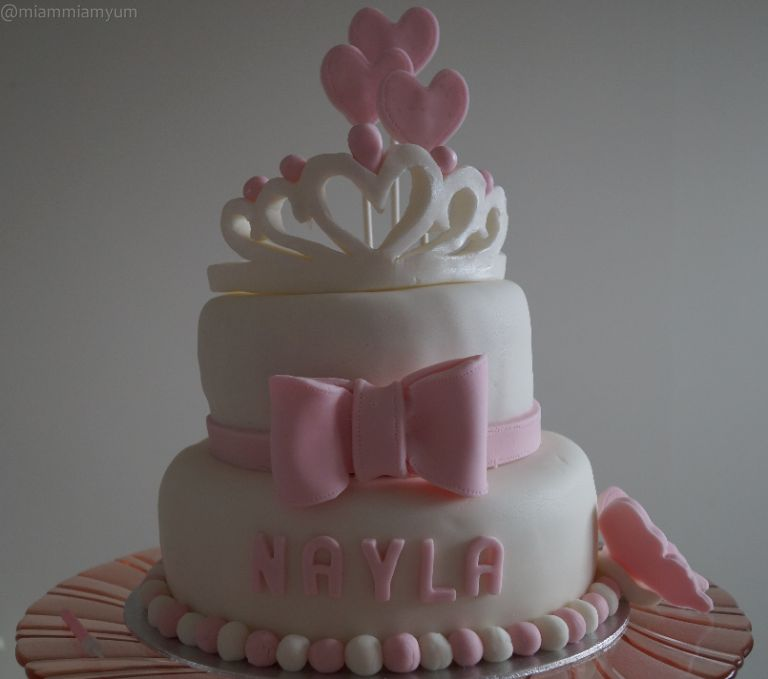 Nayla's first birthday cake