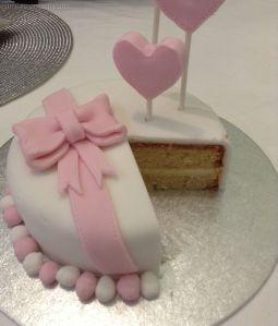 Trial Nayla's cake