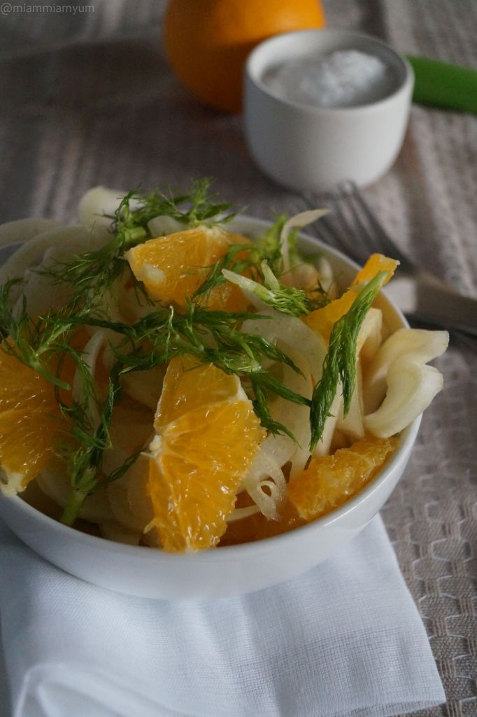 Fennel & orange salad