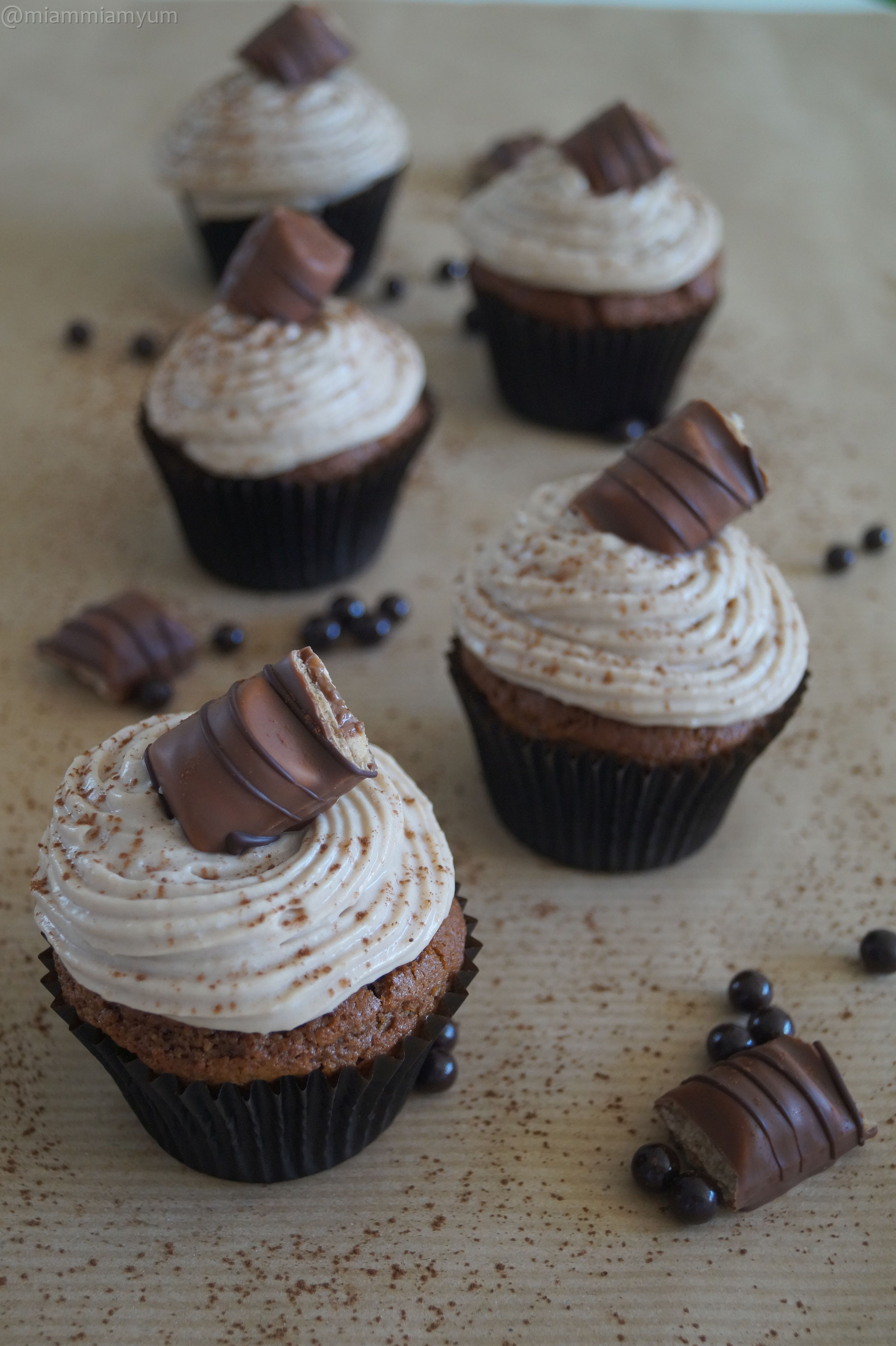Populaire Nutella & Kinder Bueno cupcake – Miam Miam & Yum DD27