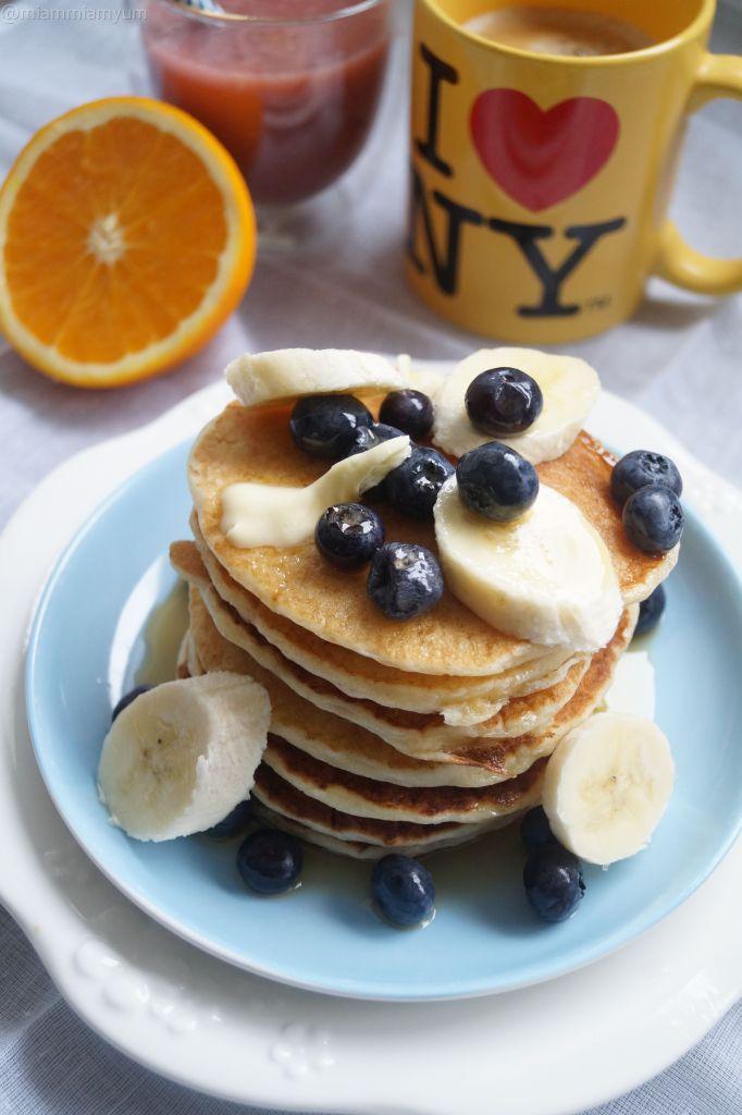 NYC-style pancakes