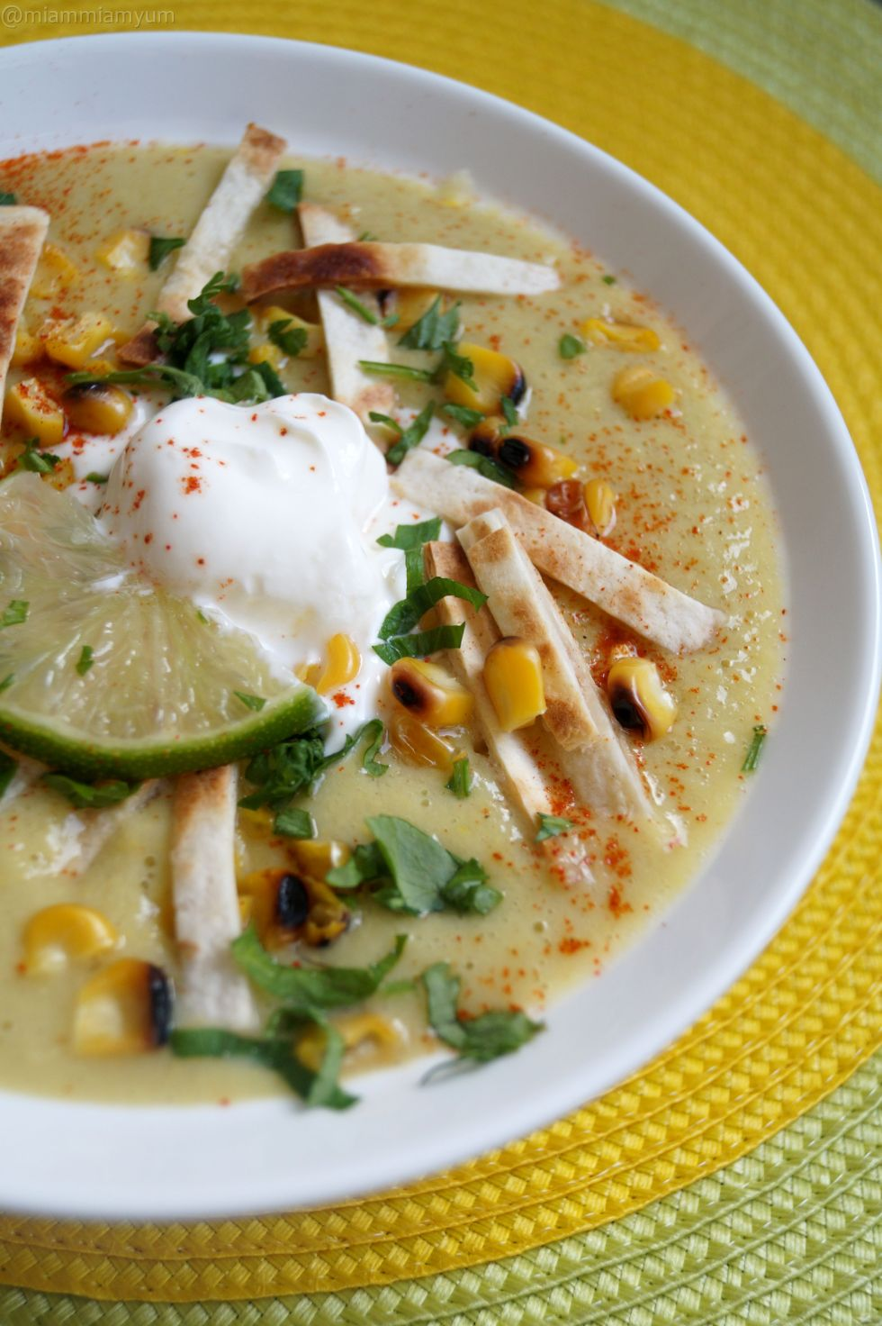 Sweetcorn soup