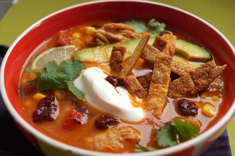 Enchilada soup 1