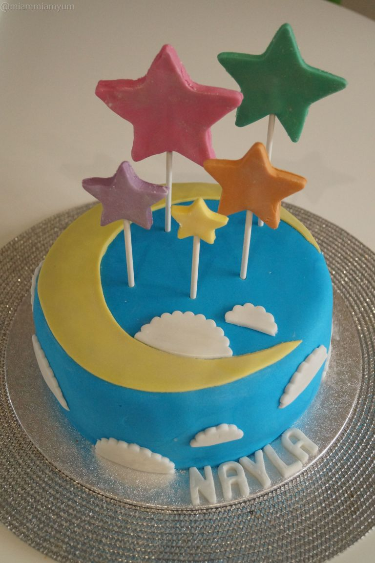 Nayla's second birthday cake 1