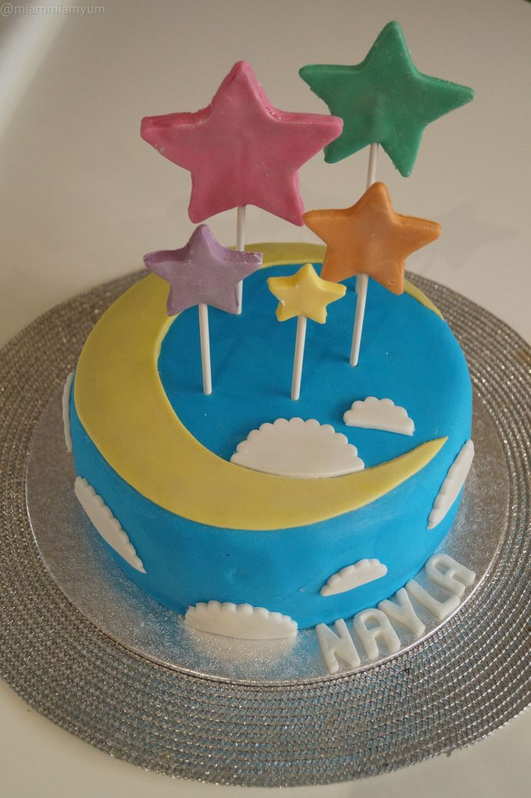Nayla's second birthday cake