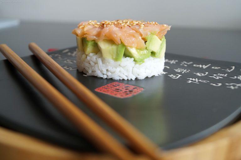 Sushi cake 3