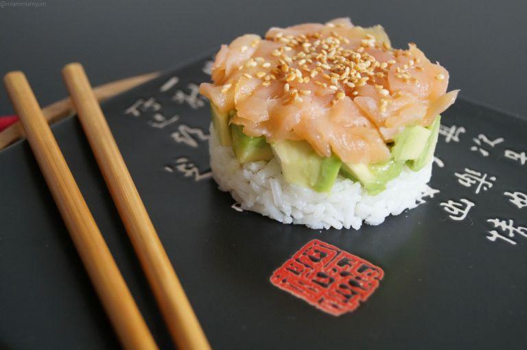 Sushi cake 6