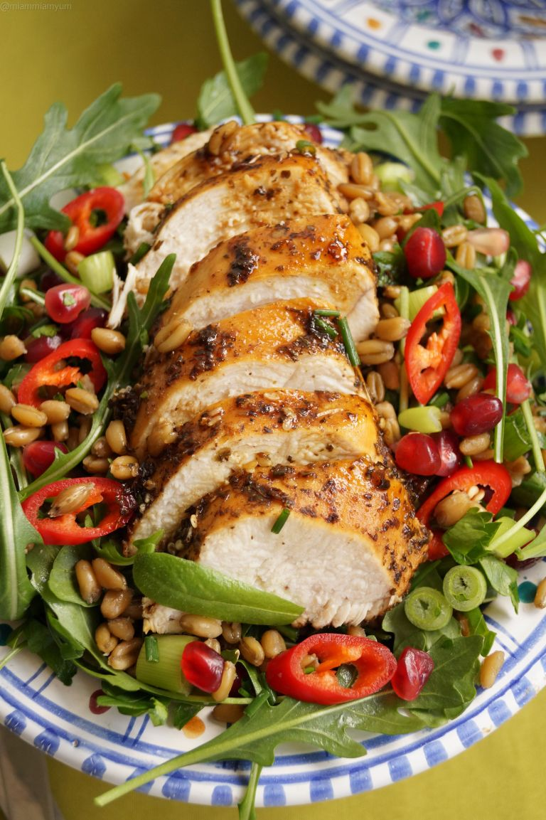 palestinian-chicken-freekeh-salad-1