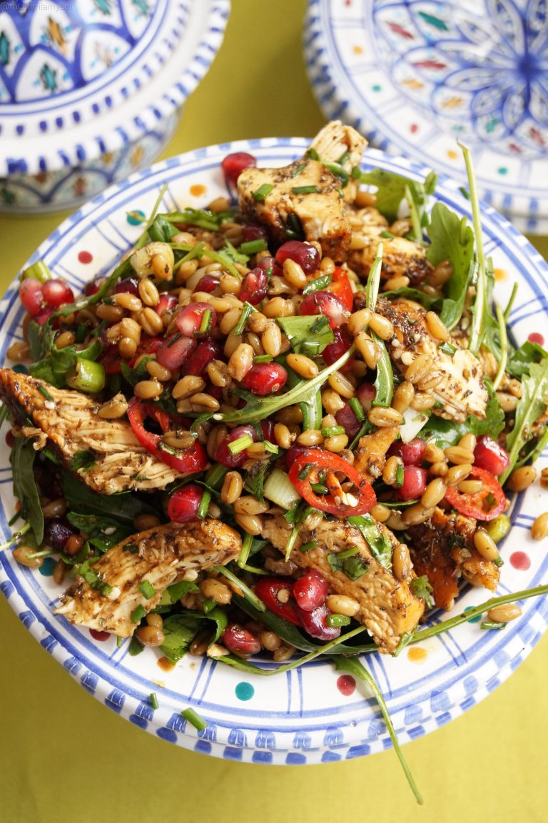 palestinian-chicken-freekeh-salad-3