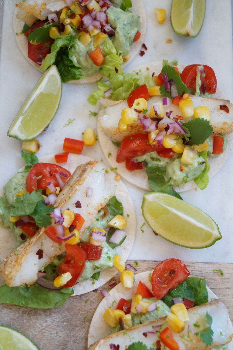 Mexican fish tostadas 2