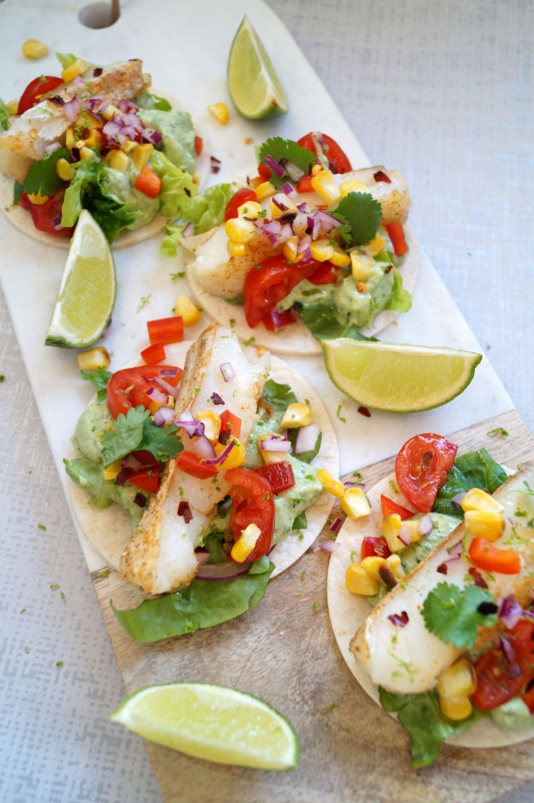 Mexican fish tostadas 4