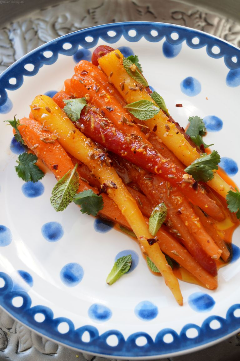 Moroccan carrot salad 1