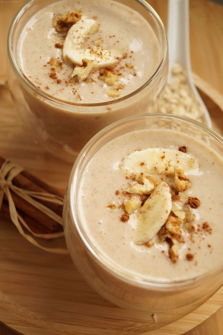 Banana bread smoothie 3