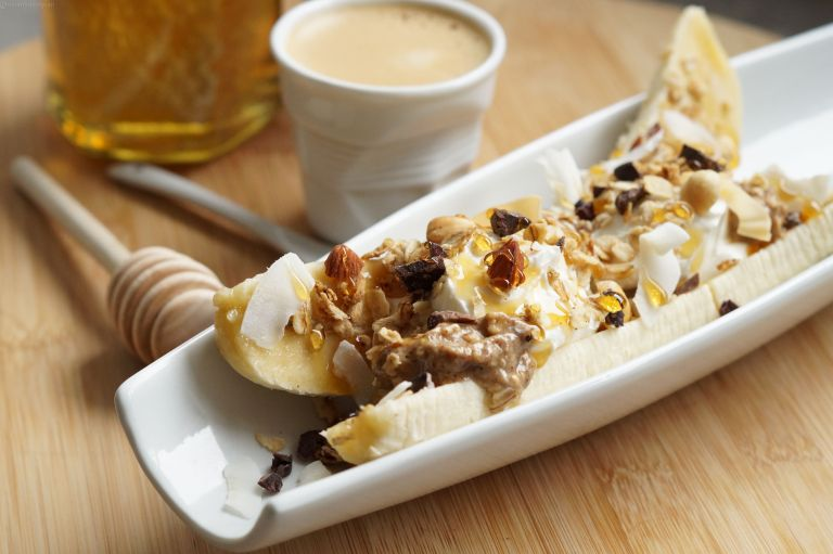 Breakfast banana split 3