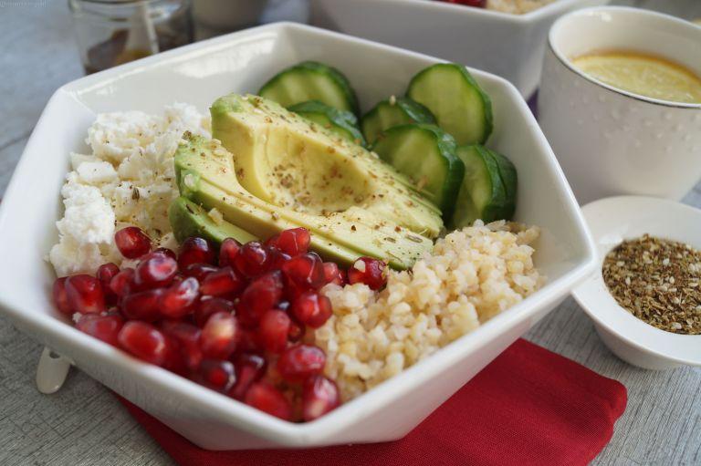 Middle Eastern Buddha bowl 4