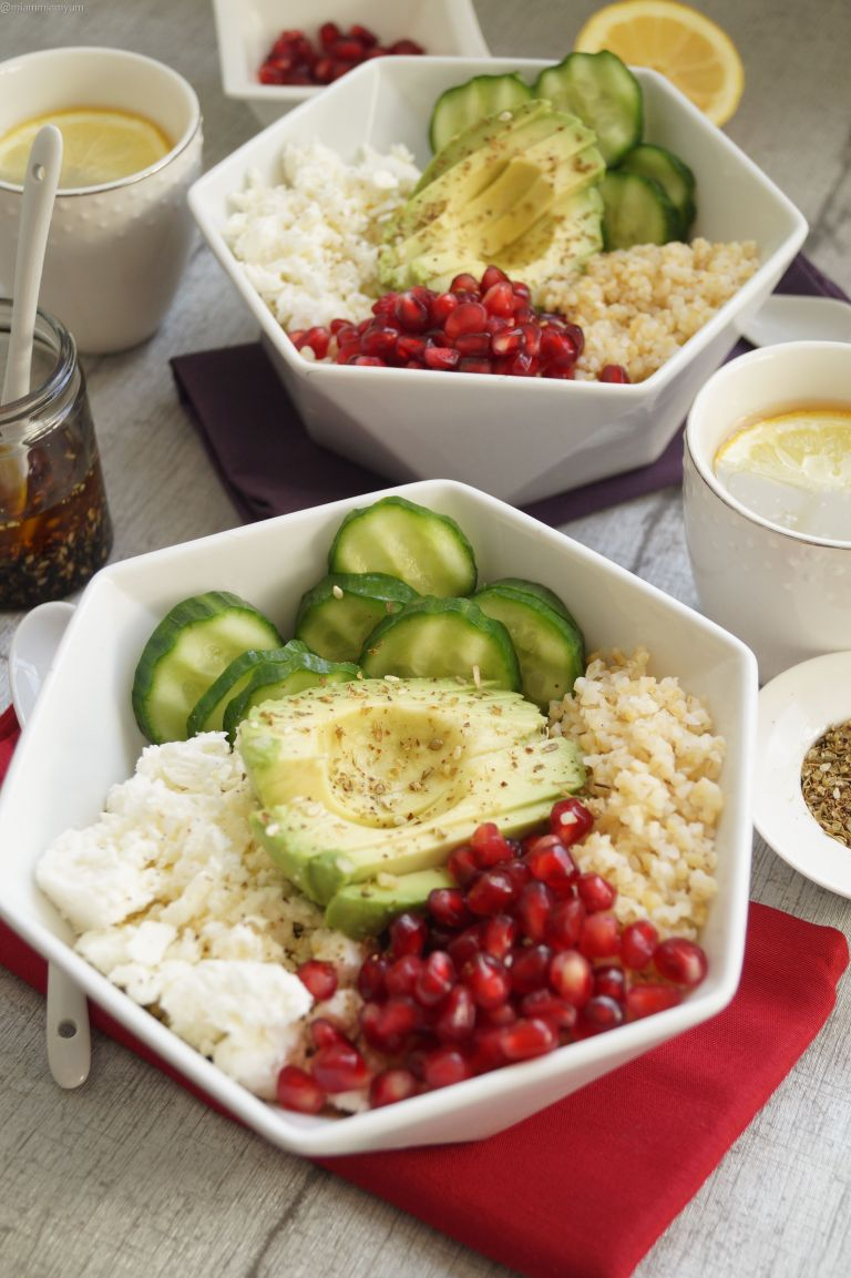Middle Eastern Buddha bowl