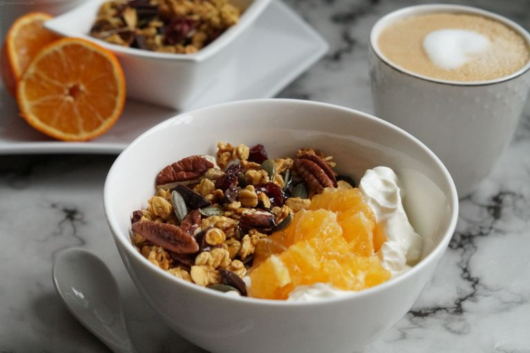 Orange cranberry chocolate granola 2