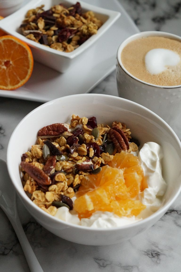 Orange cranberry chocolate granola 3