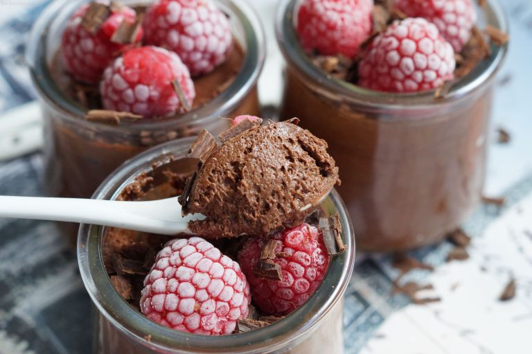 Chocolate mousse 7