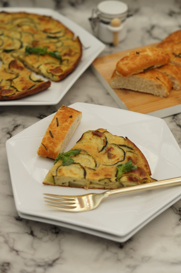 Courgette & Parmesan scarpaccia 2