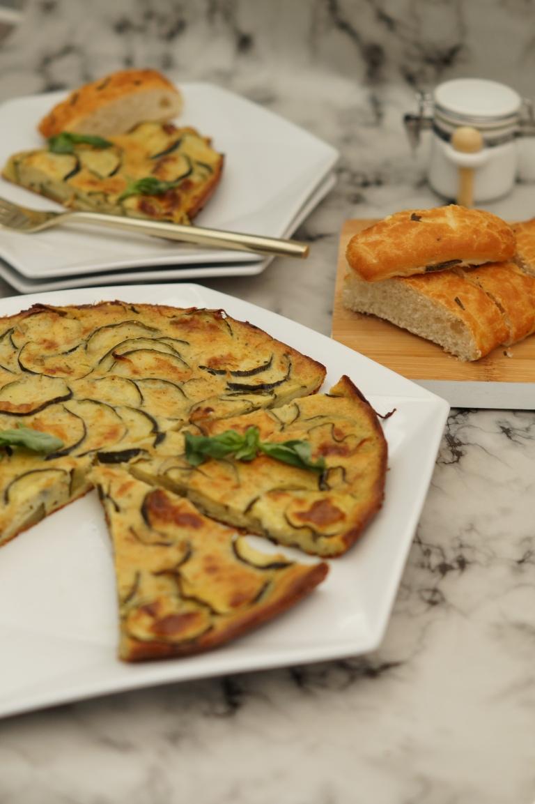Courgette & Parmesan scarpaccia 3
