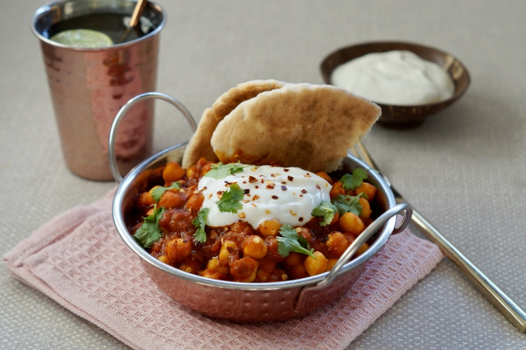 Chickpea curry 2
